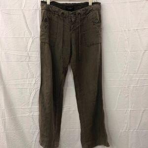 Sanctuary Los Angeles Brown Linen Pant Size 28